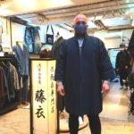 刺し子ジャケット(紺)